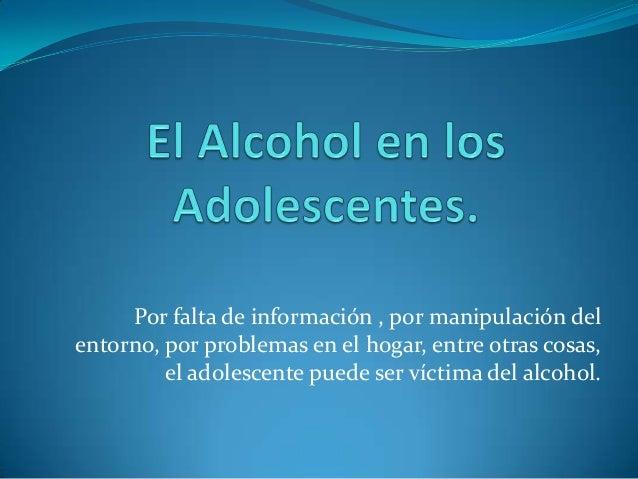 Las dermatitis al alcoholismo