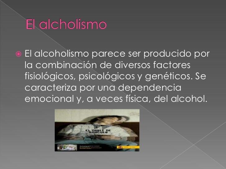 El informe al tema el alcoholismo y la borrachera el informe