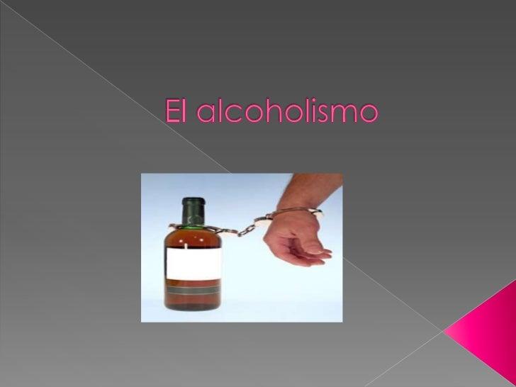 El alcoholismo diapositiva