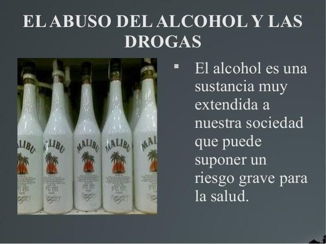 El alcohol y las drogas   javi y fernando real