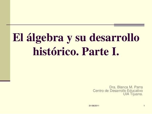 El algebra y_su_historia
