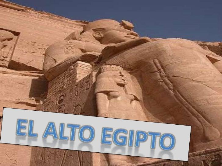 El Alto Egipto se extiende desde M
