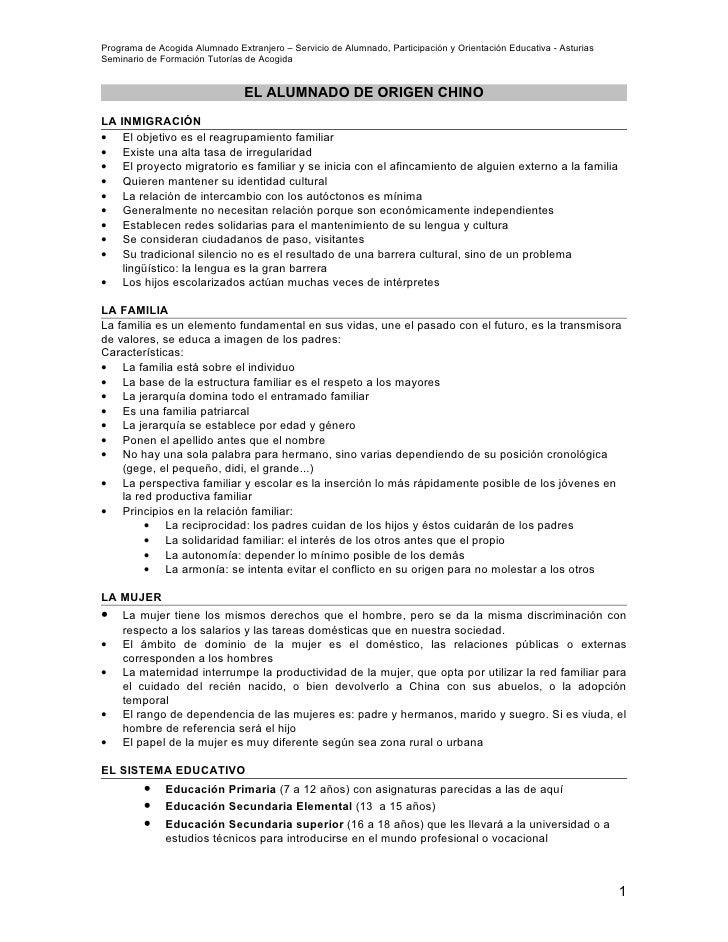 Programa de Acogida Alumnado Extranjero – Servicio de Alumnado, Participación y Orientación Educativa - Asturias Seminario...