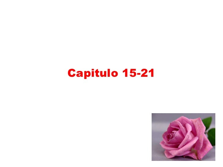 Capitulo 15-21