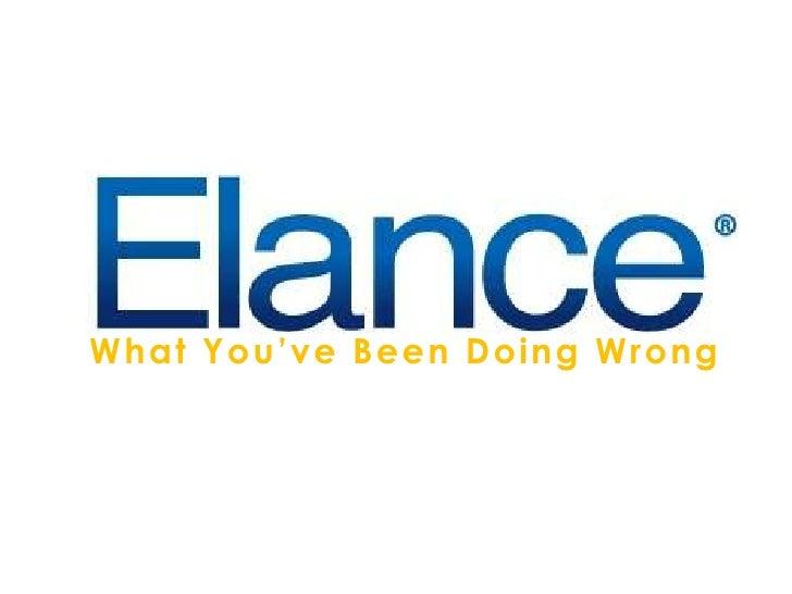 Elance Blog