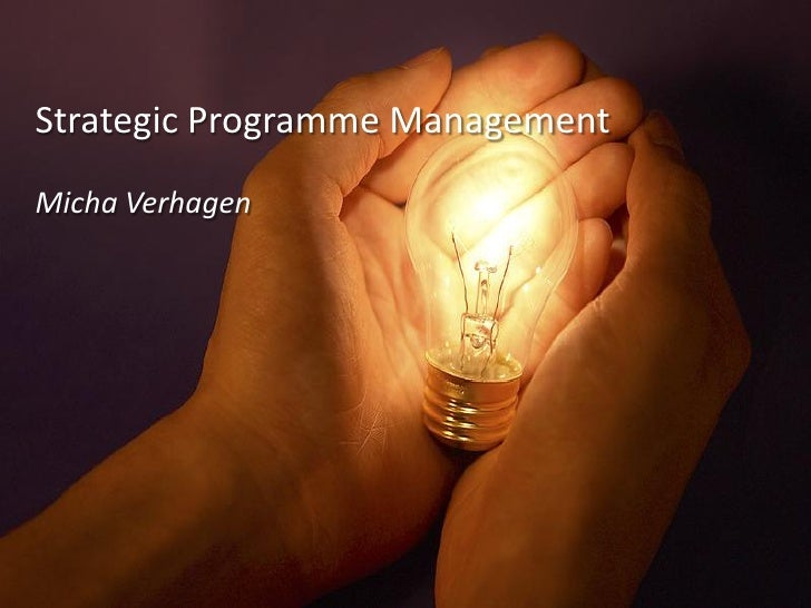 Elang   Strategic Programme Management