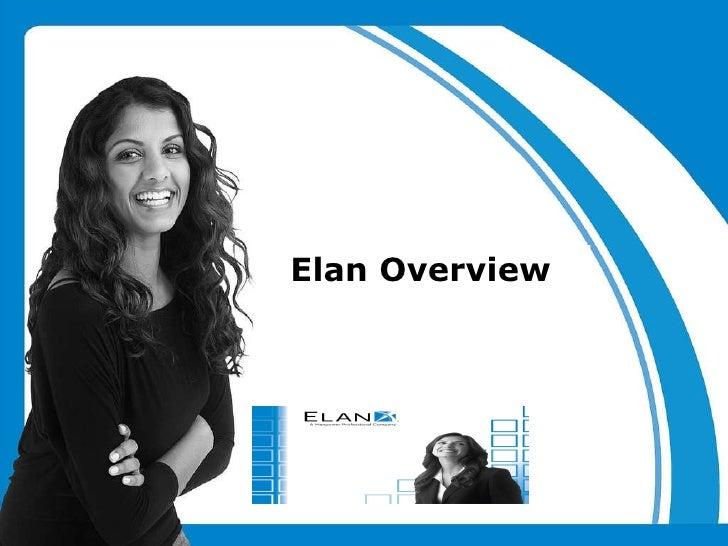 Elan Presentation