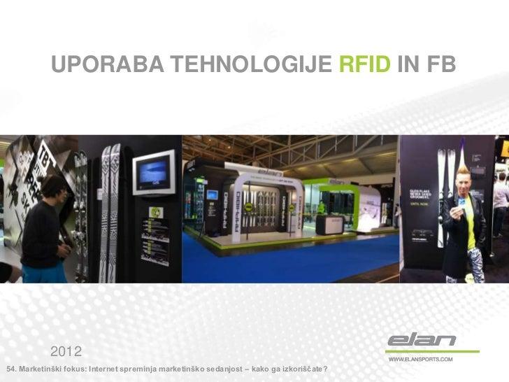 Aljaž Urbanc (Elan): Uporaba tehnologije RFID na FB - izkušnje Elana [54. MARKETINŠKI FOKUS]
