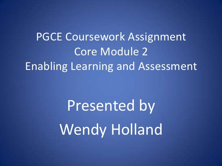 Pgce assignment