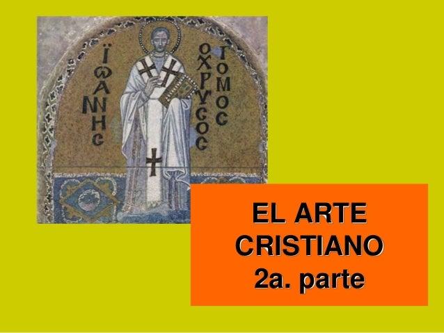 EL ARTECRISTIANO2a. parte