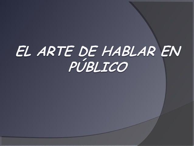 El arte de_hablar_en_p_blico