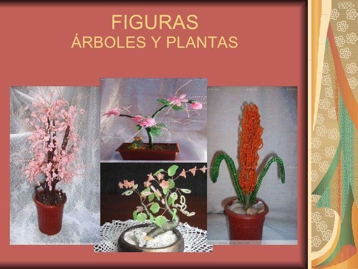 FIGURAS ÁRBOLES Y PLANTAS