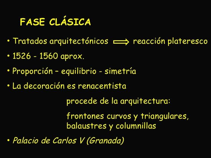 El arte del renacimiento en espa a arquitectura for Balaustres granada