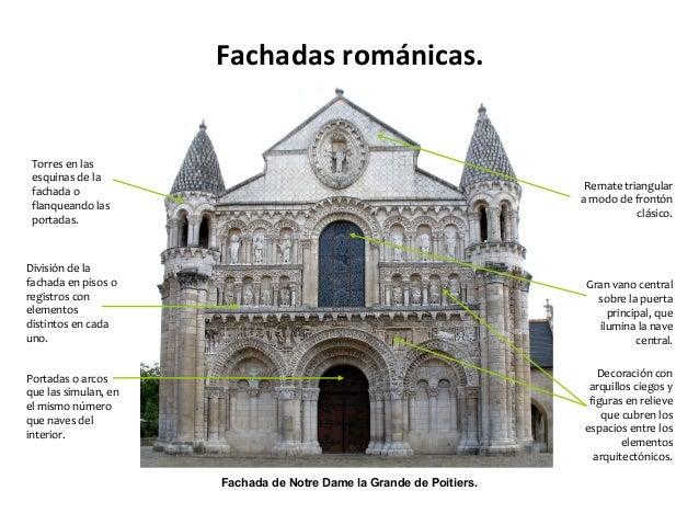El arte rom nico - Vano arquitectura ...