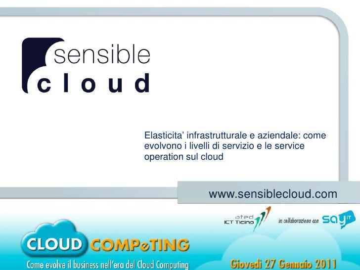 SLA on the Cloud
