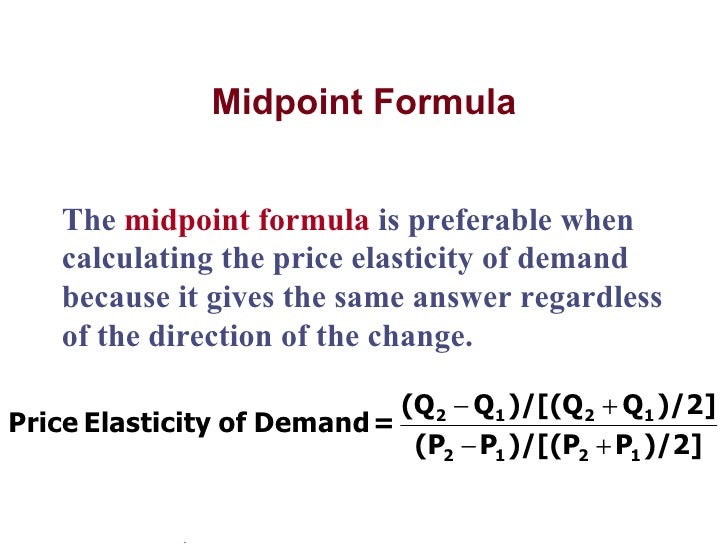 Inelastic demand example