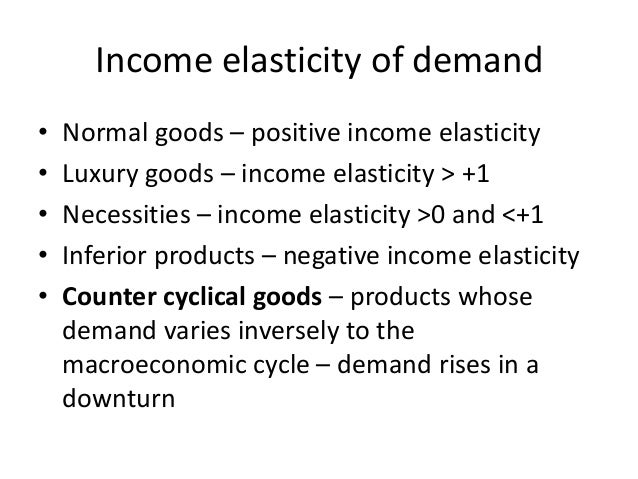 demand elasticity of luxury automobiles essay