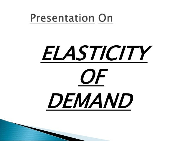 an analysis of the advertising elasticity of demand Calculating price and advertising elasticity values  determine the advertising elasticity of demand c  time-series, and survival analysis.