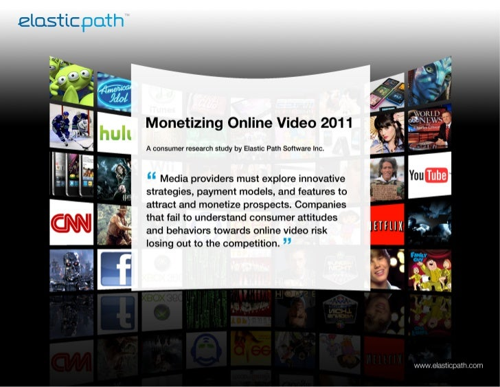 Monetizing Online Video: Ecommerce Research Paper