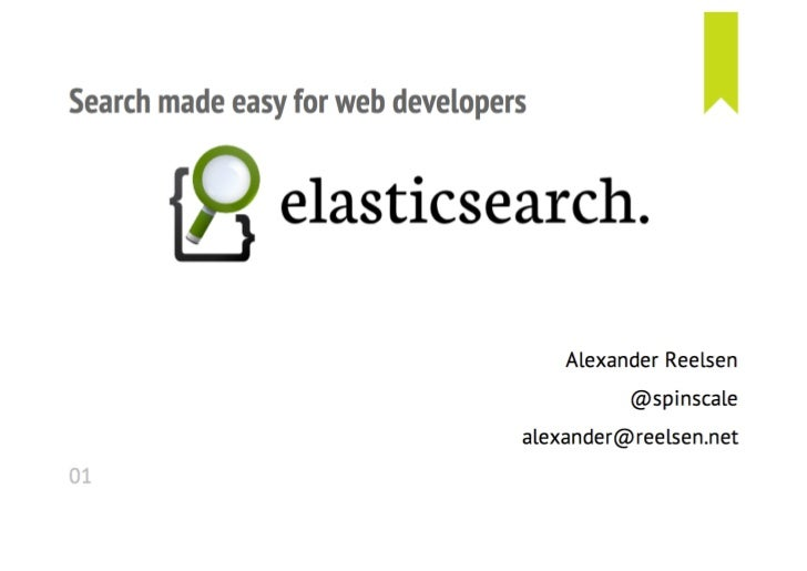 Elasticsearch introduction