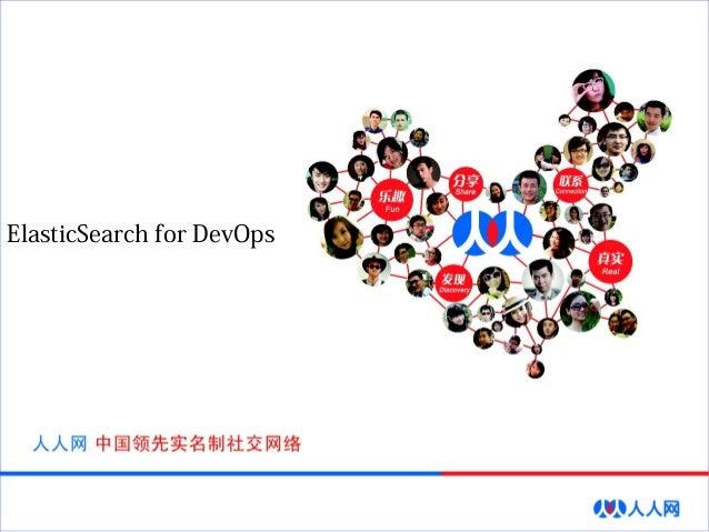 ElasticSearch for DevOps