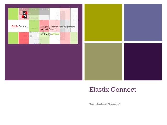 Elastix Connect