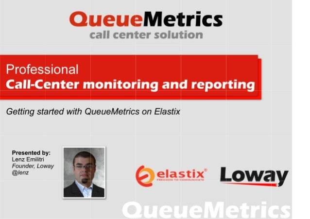 Contents ●  The problem What is QueueMetrics? Installing QueueMetrics on Elastix QueueMetrics in practice A little surpris...