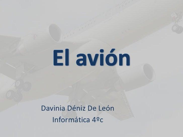 El avión