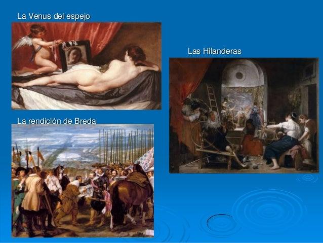 El arte barroco pintura escultura y arquitectura - La venus del espejo ...