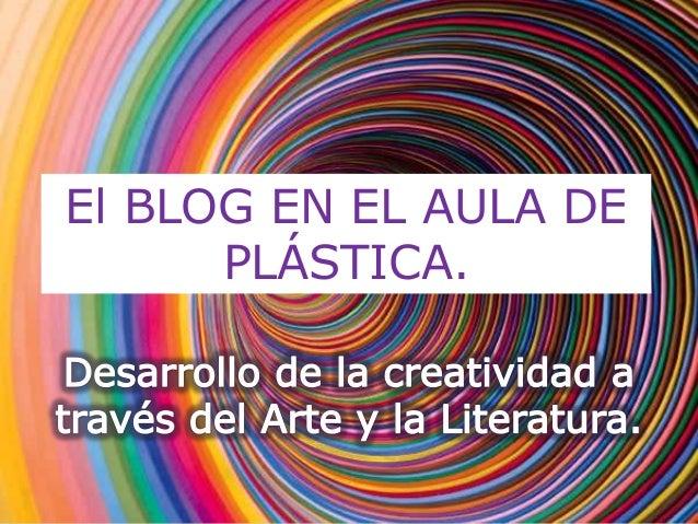 El blog en el aula de plástica