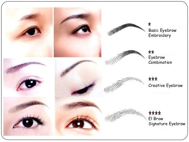 El brow presentation eyebrow embroidery philippines
