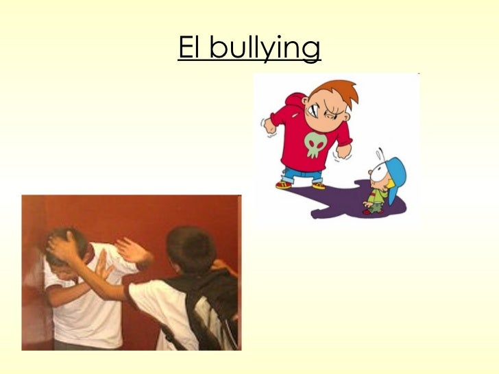 El bullying