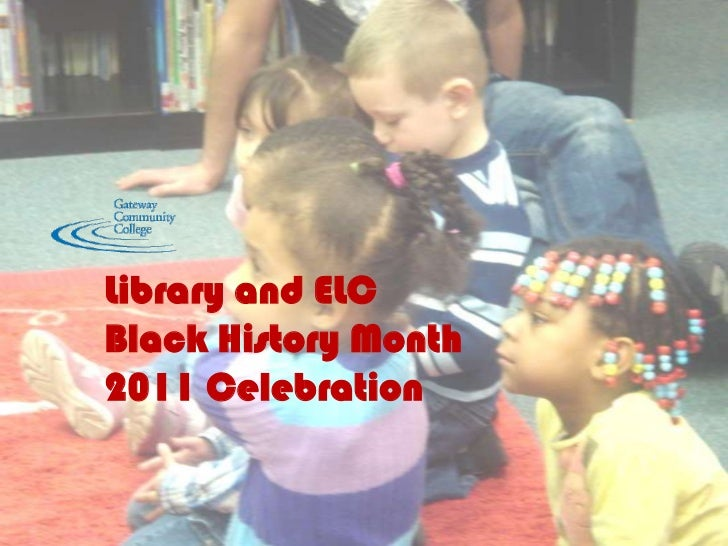 Library and ELCBlack History Month2011 Celebration<br />