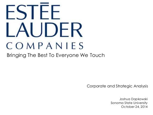 estee lauder strategic management case study Strategic management captures the complexity of the current business environment and delivers the latest skills and concepts with unrivaled clarity, helping readers develop their own.