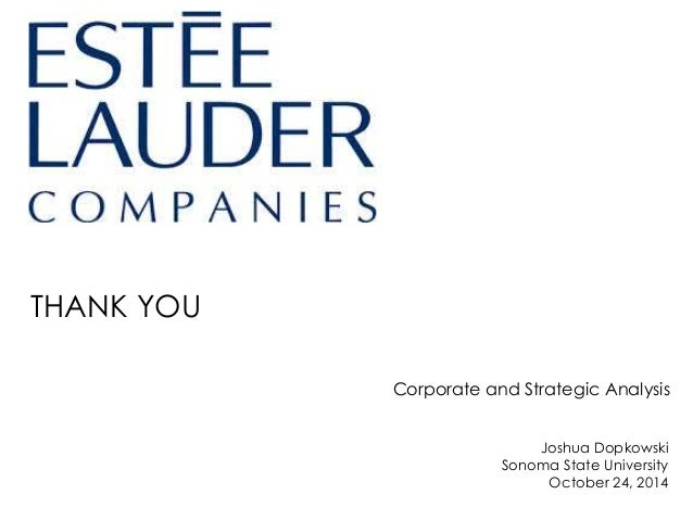estee lauder case analysis Roger caracappa: package deals for the estee lauder companies case solution, roger caracappa to negotiate lower costs, innovative proposal of a french supplier that could potentially move another successful provider of all historica.