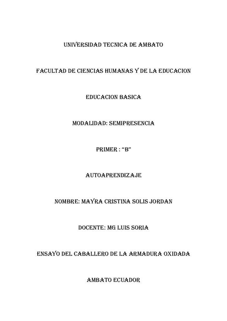 Universidad tecnica de ambato<br />Facultad de ciencias humanas y de la educacion<br />Educacion basica<br />Modalidad: se...