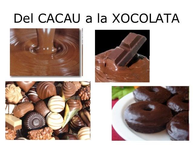 Del CACAU a la XOCOLATA