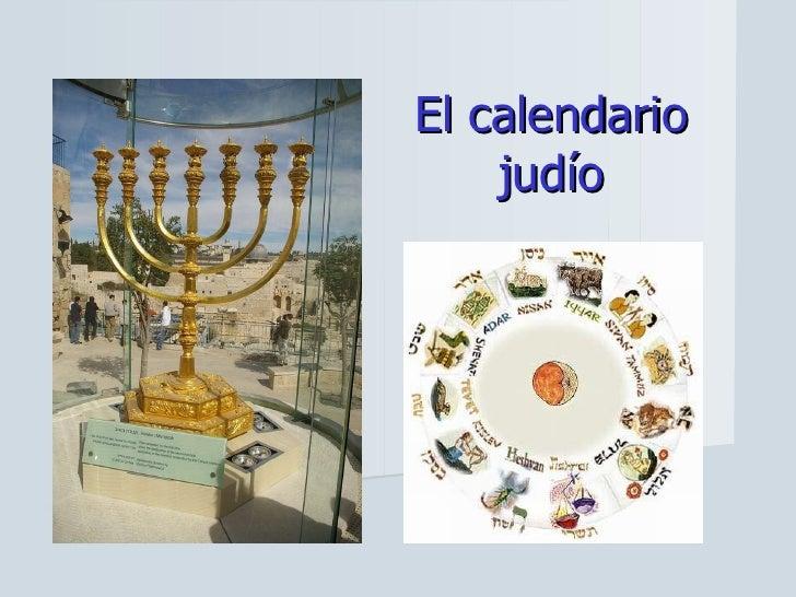 El Calendario Judiopowerpoit