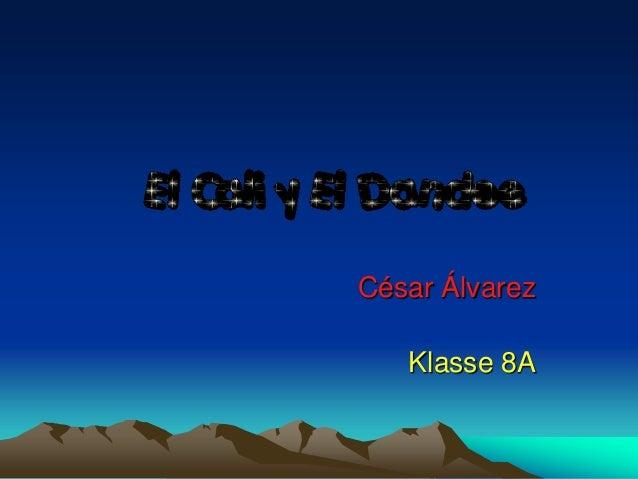 César Álvarez Klasse 8A