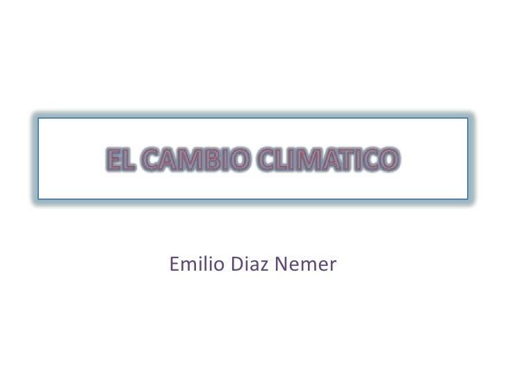 Emilio Diaz Nemer