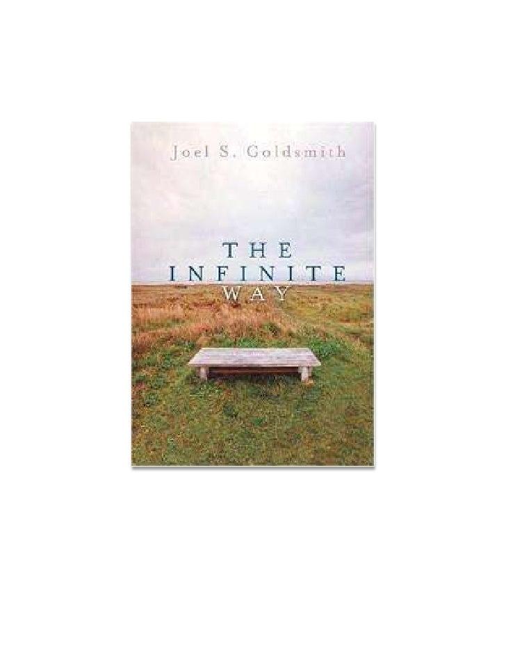 El camino de la infinitud   joel s. goldsmith