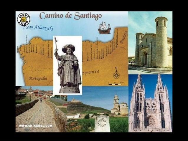 El Camino de Santiago es una ruta que recorren losperegrinos de toda Europa para llegar a la ciudad deSantiago de Composte...