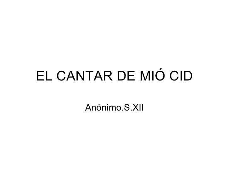 El Cantar De Mio Cid Power