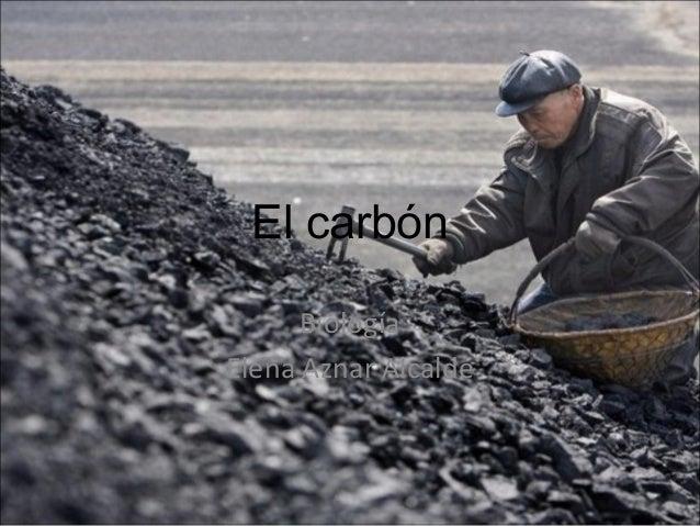 El carbón Biología Elena Aznar Alcalde