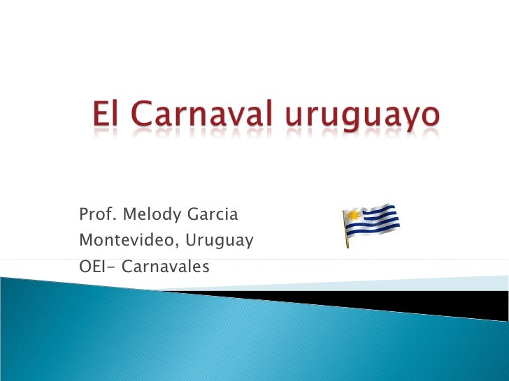 El Carnaval Uruguayo