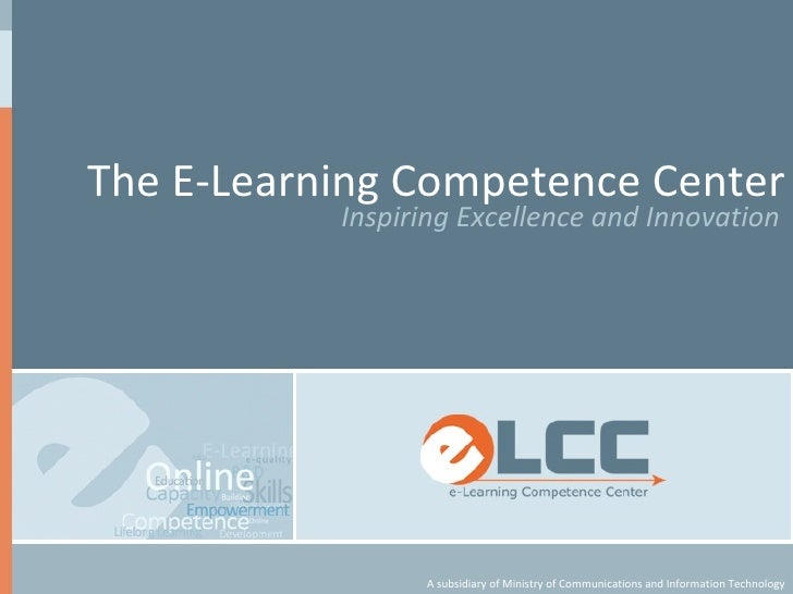 The E-Learning Competence Center