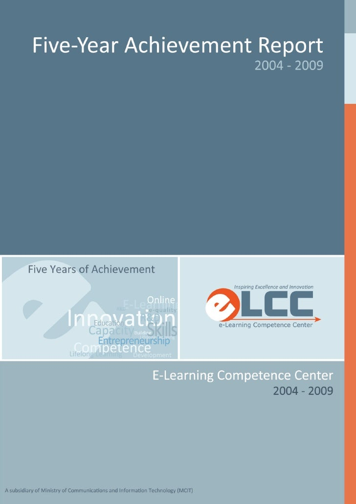 Elcc five year_achievement_report