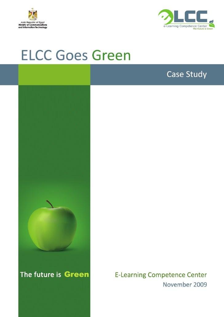 Elcc goes green_case study