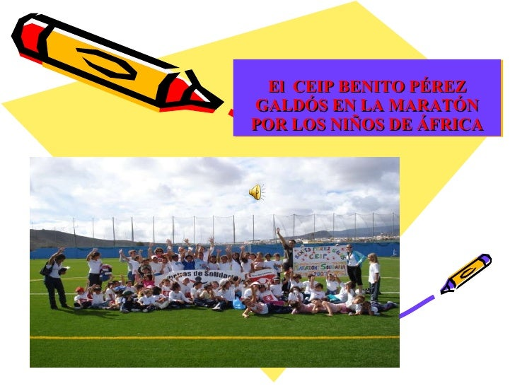 El  Ceip Benito PéRez En La MaratóN