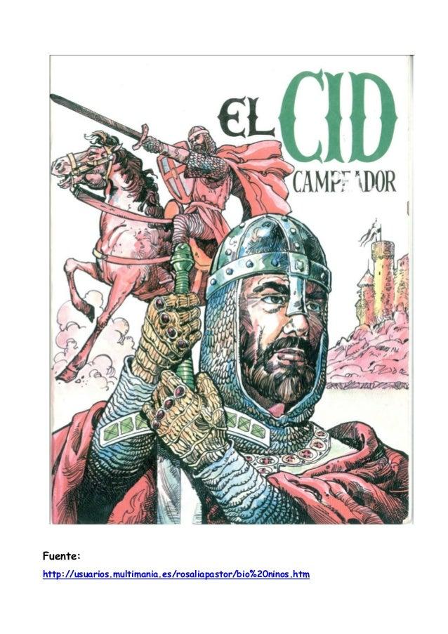 El Cid (cómic historia)